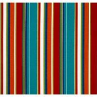 Jordan Manufacturing Outdoor Fabric By The Yard, Covert Stripe Fiesta