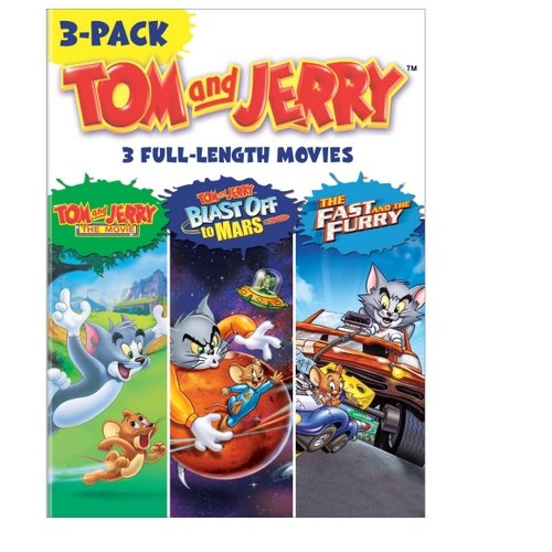 Tom And Jerry: The Movie / Tom And Jerry Blast Off To Mars / Tom And Jerry: The Fast And The Furry (Full Frame)