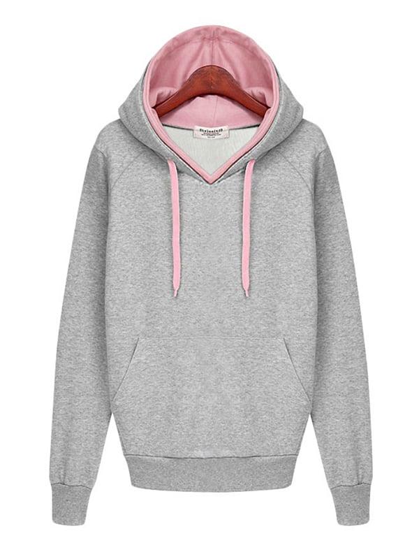 Babula Women Hoodie Sweatshirt Casual Coat Pullover Tops by