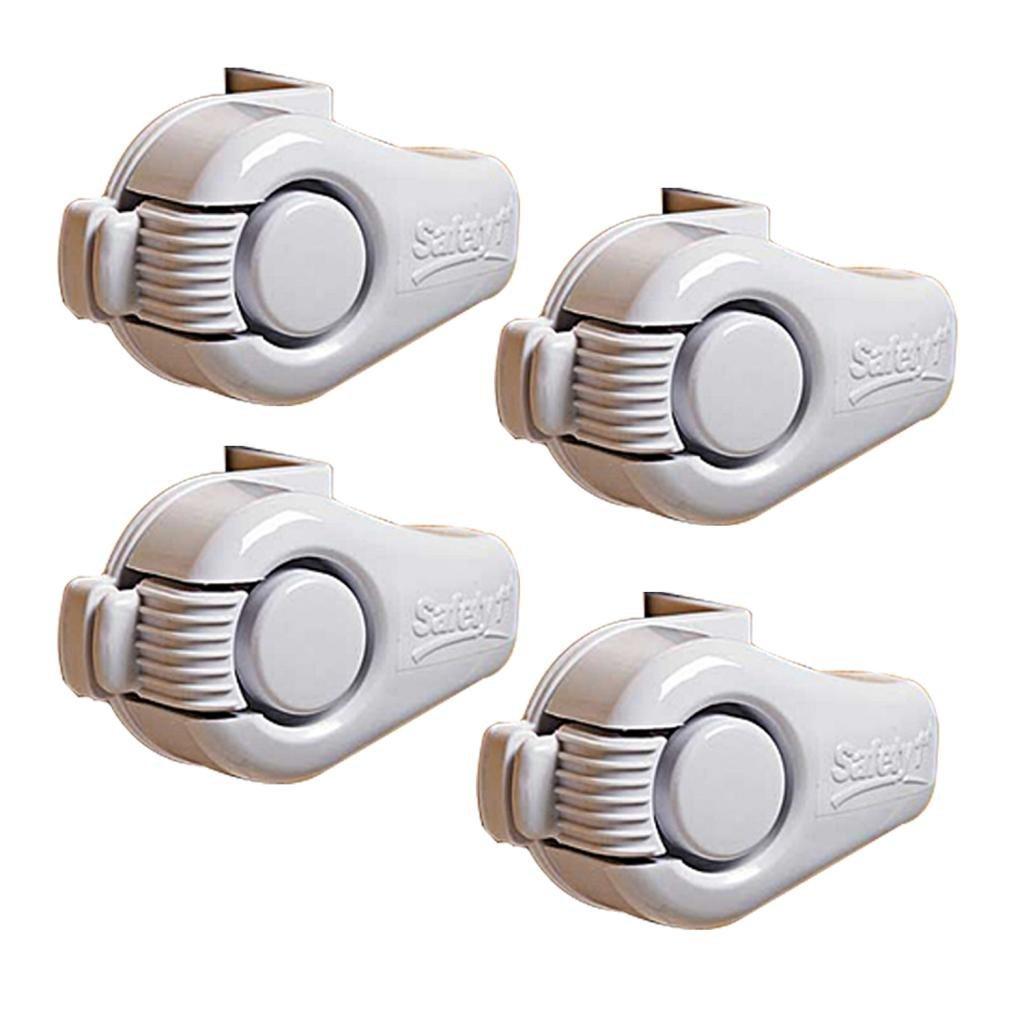 Lazy Susan Cabinet Lock, 4 Pack By Safety 1st by Safety 1st