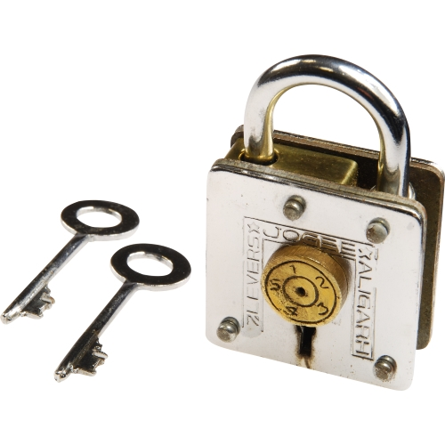 Houdini Under Lock Metal Trick Lock Puzzle Brain Teaser by Recent Toys