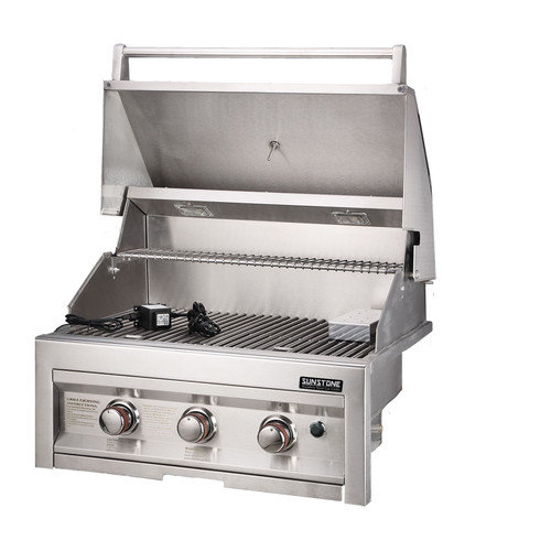 Sunstone Grills 28'' Gas Grill with 3 Burners