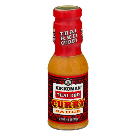 Kikkoman Curry Sauce Thai Red, 10.9 (Thai Red Curry Paste)