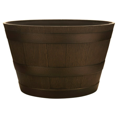 Southern Patio Whiskey Barrel Planter