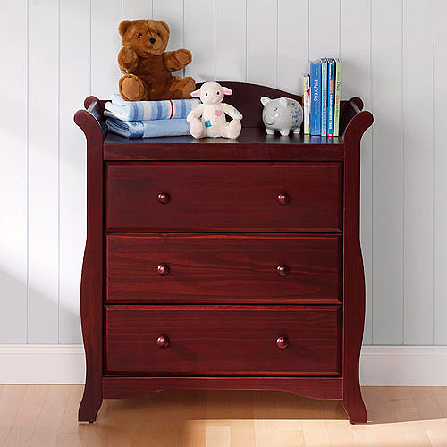 Storkcraft - Aspen 3-Drawer Dresser, Choose Your Finish