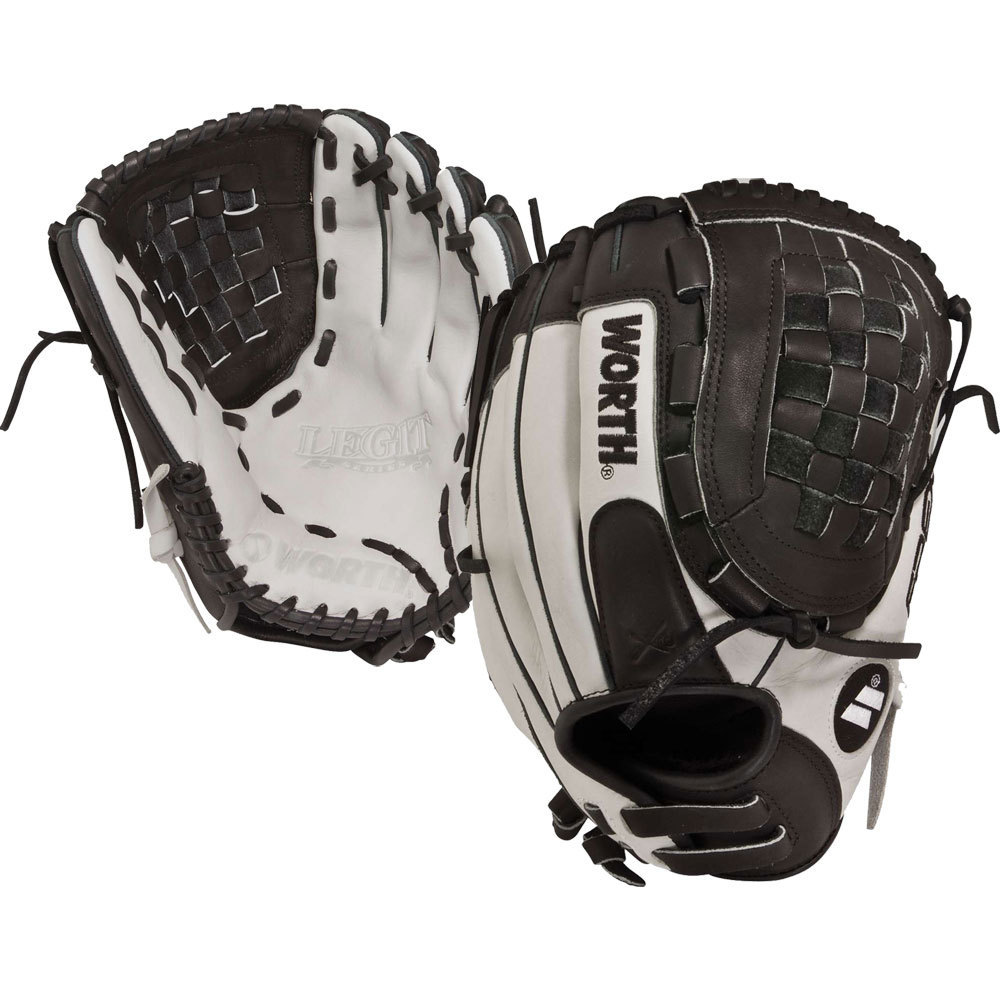 Worth Legit Series 12-inch Fastpitch Softball Glove (Left...