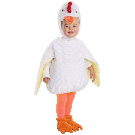 Chicken Little Toddler Costume - X-Large - Chicken Costume