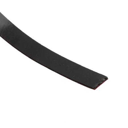 2 Pcs 5M 8mm x 3mm Dual-side Adhesive Shockproof Sponge Foam Tape Red Black - image 2 of 4
