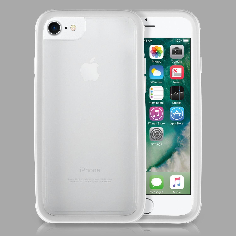SOJITEK - iPhone 7 & iPhone 8 DIY Custom Cover US Military Standard Case, Bonus Tempered Glass included - Black