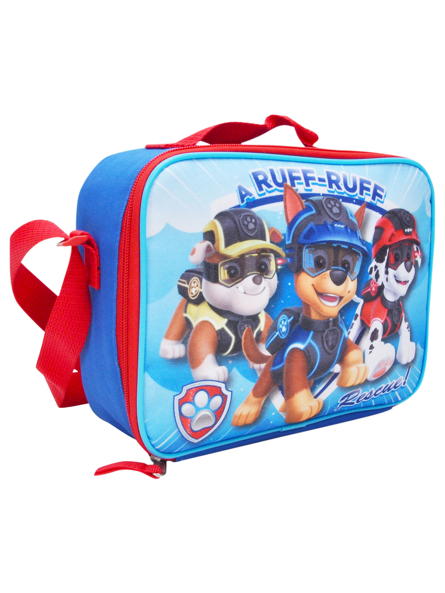 Boys Paw Patrol Insulated Lunch Bag with Shoulder Strap