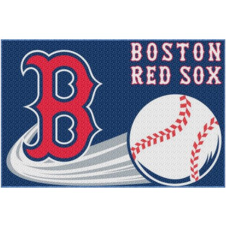mlb boston red sox 20 x 30 tufted bath rug - Boston Red Sox Bath Accessories