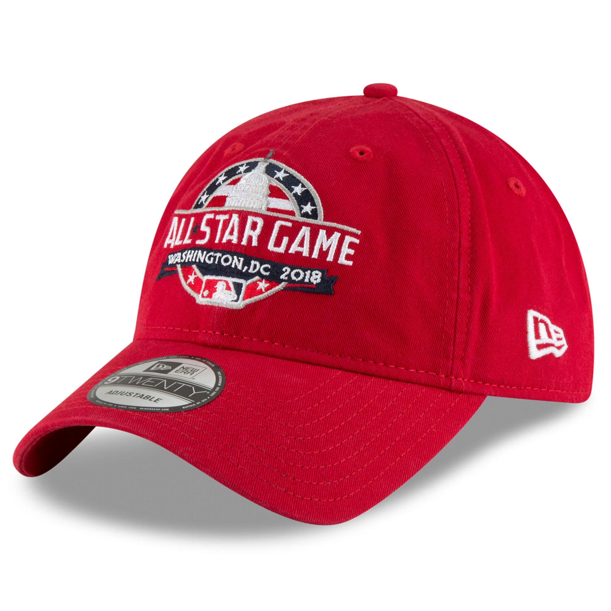New Era 2018 MLB All-Star Game Core Classic 9TWENTY Adjustable Hat- Red - OSFA