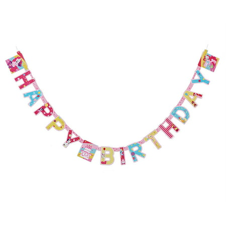 My Little Pony Birthday Party Decoration Banner, 7.59 ft. - My Little Pony Birthday Party Theme