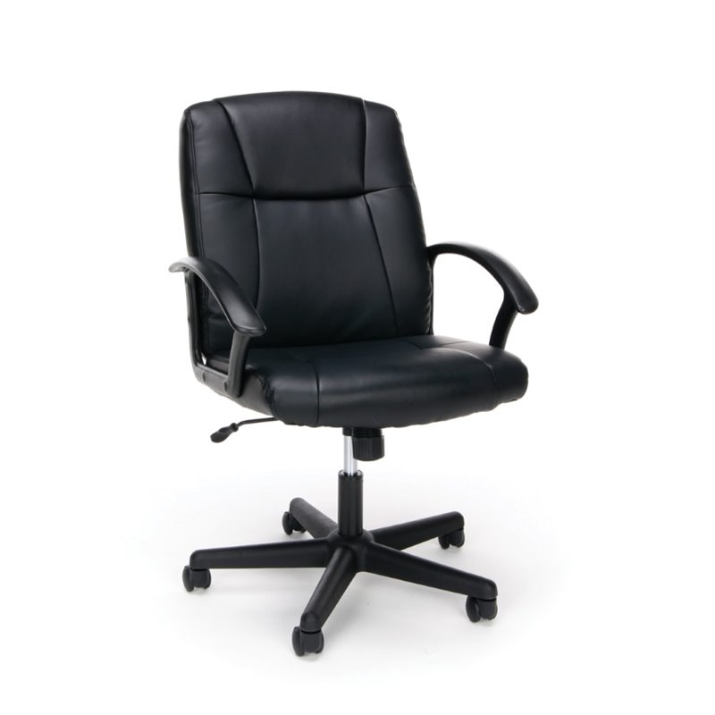 Scranton & Co Ergonomic Leather Executive Office Chair in Black on home theater chairs, leather chairs, ergonomic chairs with lumbar support, task chairs, stacking chairs, reception chairs, fabric office chairs, guest chairs, kneeling chairs, ergonomic saddle chair, folding chairs, ergonomic ball chair, back support chairs, herman miller chairs, office furniture, mesh chairs, home office chairs, drafting chairs, ergonomic workstation, mesh office chairs, hon chairs, humanscale chairs, ergonomic mesh chair, ergonomic keyboard, conference chairs, ergonomic chair cushion, ergonomic kneeling chair, desk chairs, executive chairs, computer chairs, conference tables, sewing chairs, office desks, computer desks, steelcase ergonomic chairs,
