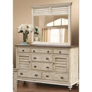 Sunset Trading Shades Of Sand 7 Drawer Dresser