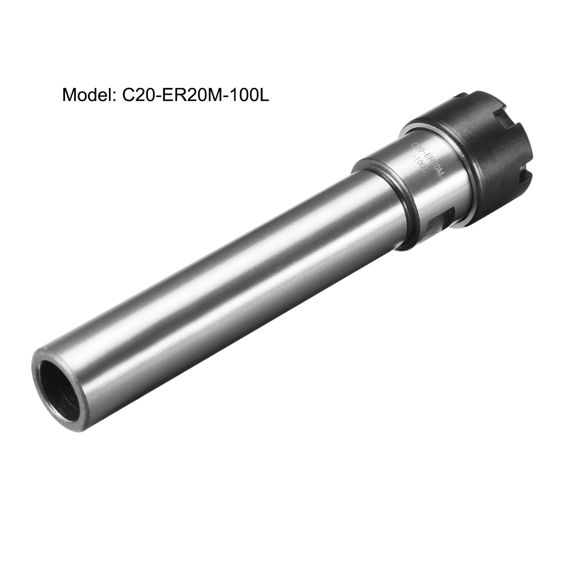 C20 ER20M 100L Collet Chuck Holder Straight Shank for CNC Milling
