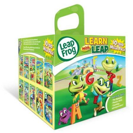 LeapFrog: Learn With Leap 10-DVD Mega Pack (Leapfrog Tv)