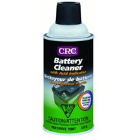 CRC Battery Cleaner with Acid Indicator 12 oz Yellow 12 oz #700988