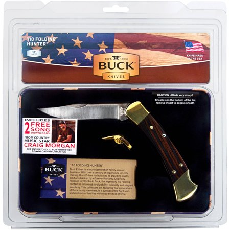 Buck Knives 110tin(w/hoyt-al-chuck-cj)