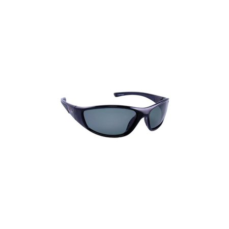 sea striker pursuit polarized sunglasses with black frame and grey polarised lens (fits medium to large faces) by sea (What Sunglasses Fit My Face Shape)
