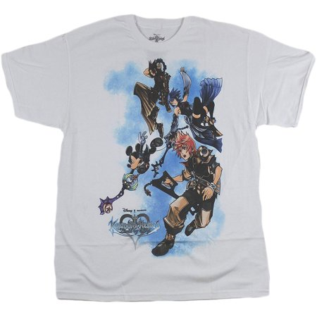Kingdom Hearts Birth By Sleep: Super Flying Adult T-Shirt