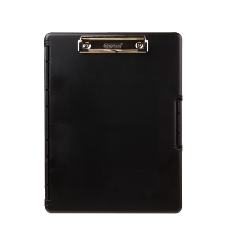 Slimcase ® 2 clipboard, 3517-AWM2 Black in color holds note paper (Dexas Clipboard Storage)