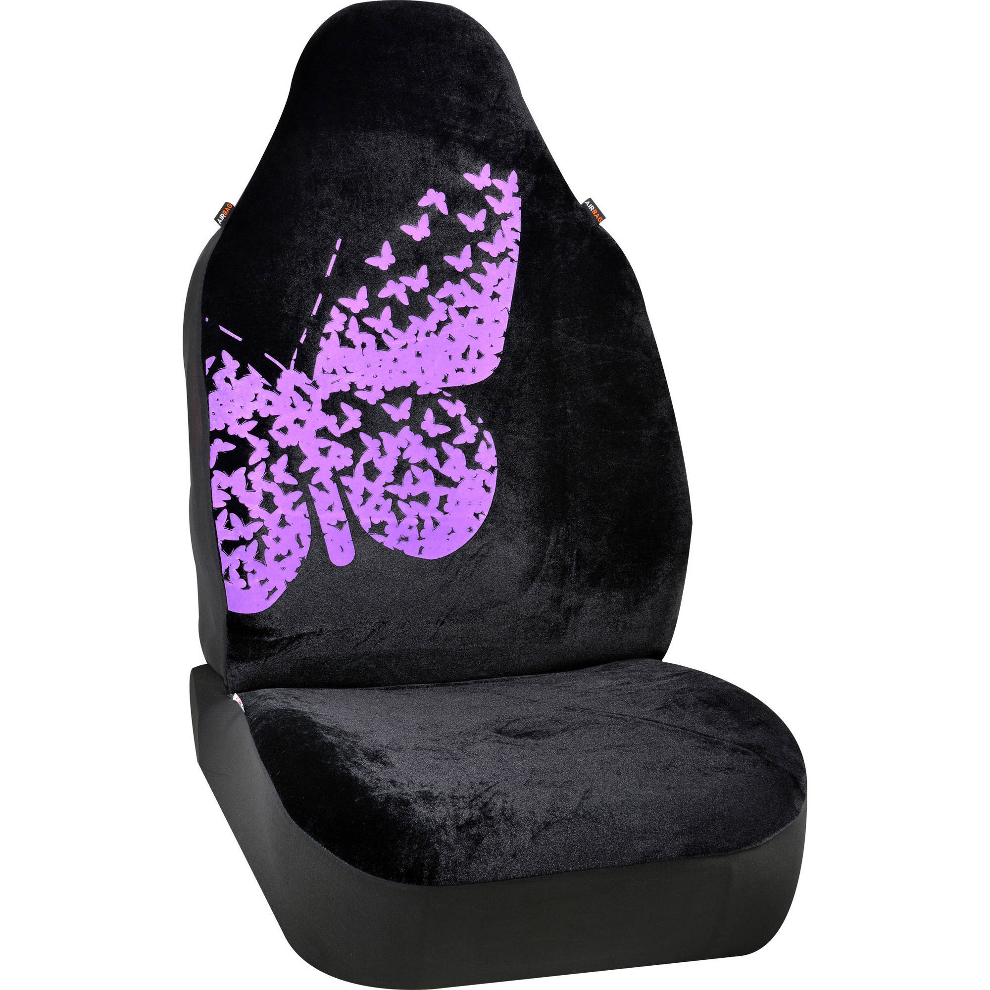 Seatcover Purple Butterfly By Autodrive