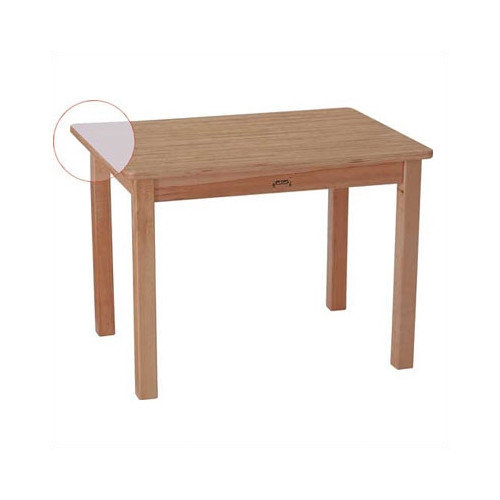 Jonti-Craft MapleWave 30'' x 22'' Rectangular Classroom Table