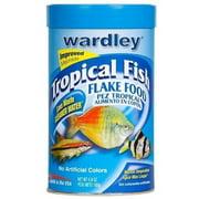 Wardley Tropical Fish Flakes, 6.8 oz