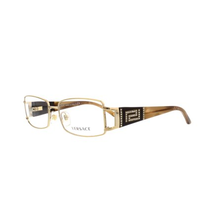 VERSACE Eyeglasses VE 1163B 1221 Platinum (Versace Glasses For Kids)