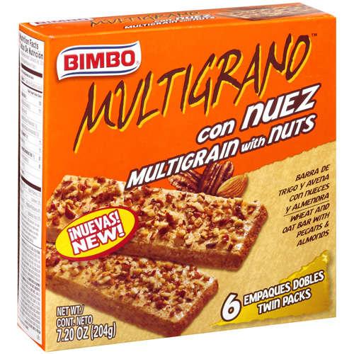 Bimbo: W/Nuts Multigrain, 7.20 oz