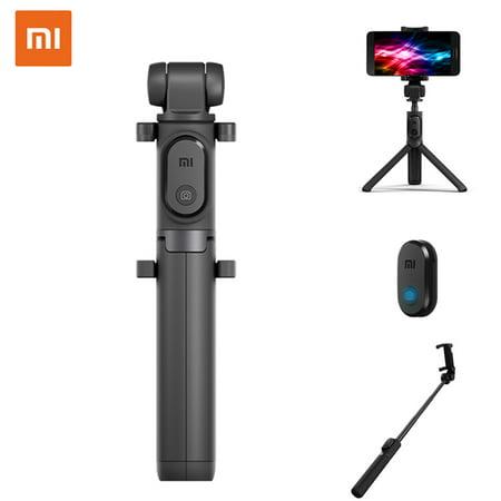 Xiaomi Bluetooth 3.0 Monopod & Tripod Telescopic Wireless Selfie Stick Universal,Grey color