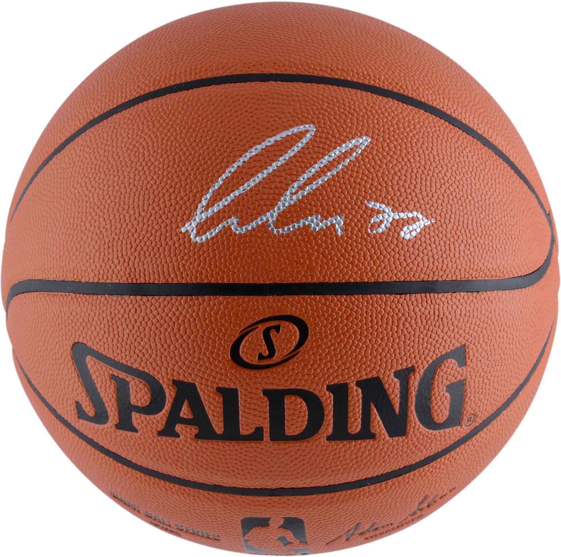 Luka Doncic Dallas Mavericks Autographed Spalding Indoor Outdoor Basketball - Fanatics Authentic Certified