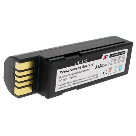 Zebra 3600 Series Scanners (DS3678, LI3678, LS3678) Replacement Battery. 3350 mAh
