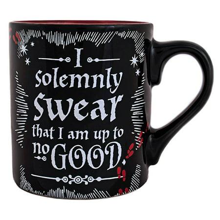 Pottery Mug - Harry Potter No Good 14oz. Ceramic Mug
