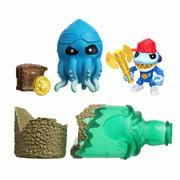 Treasure X Sunken Gold Bottle Smash - Action Figure & Treasure Inside