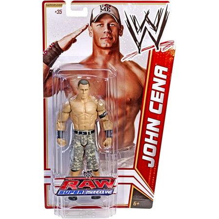 WWE Wrestling Basic Series 18 John Cena Action Figure