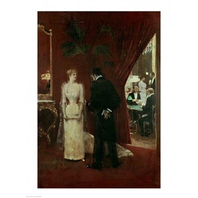 Posterazzi BALXIR63428 The Private Conversation 1904 Poster Print by Jean Beraud - 18 x 24 in. - image 1 of 1
