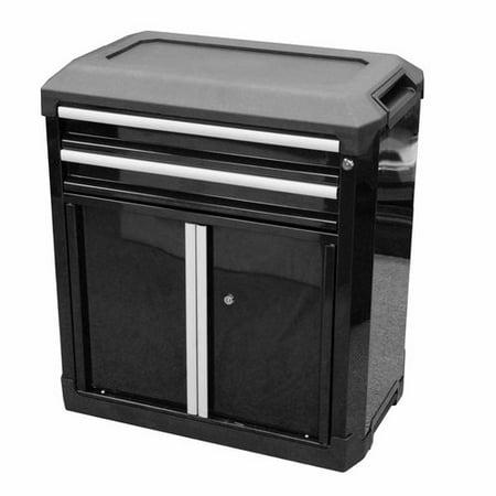 TACTIX Modular Storage 2-Drawer 2-Door Cabinet - TACTIX Modular Storage 2-Drawer 2-Door Cabinet - Walmart.com