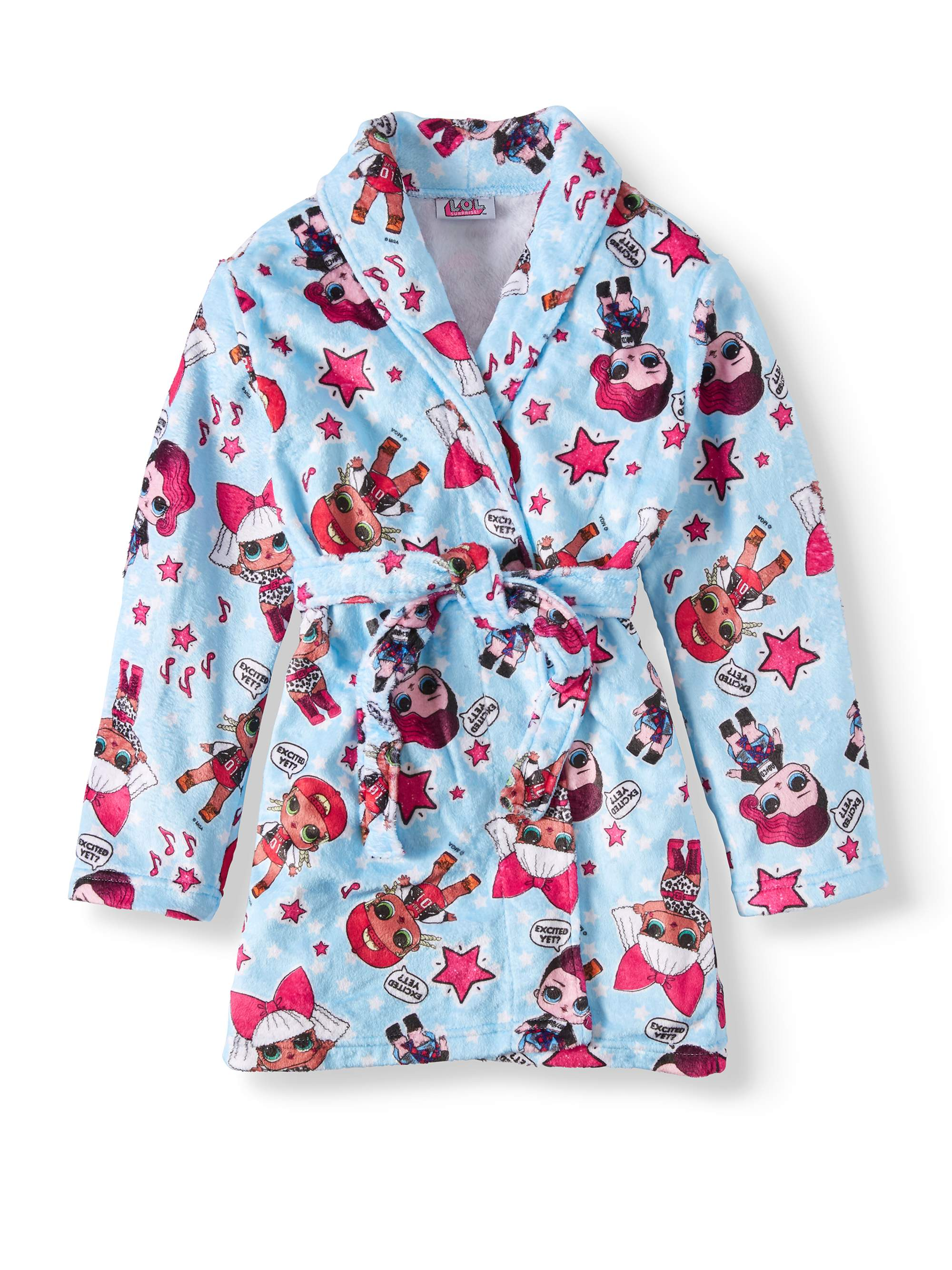 LOL Surprise! 'Excited Yet?' Glam Girl Pajama Robe