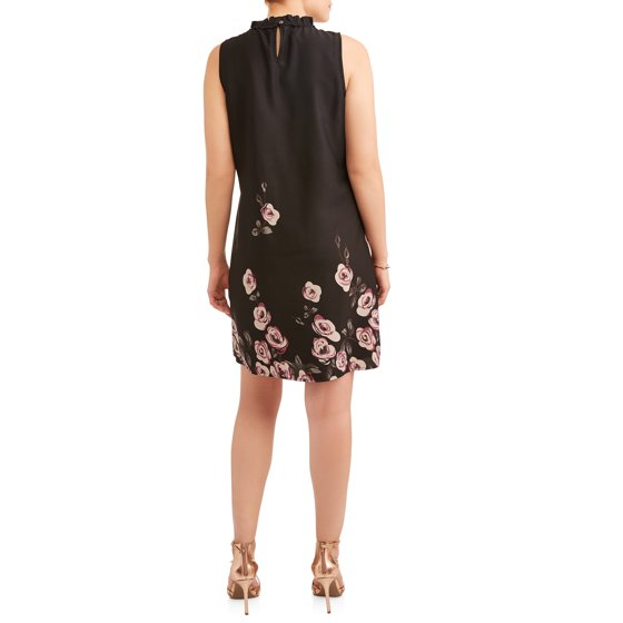 81d4da80e0272 MILLENIUM - Women's Chiffon Sleeveless Dress - Walmart.com