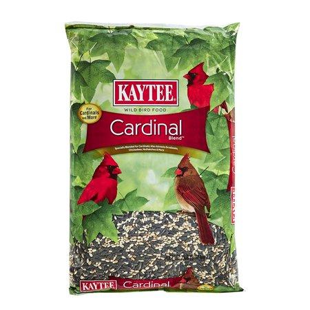 Cardinal Blend, 7-Pound Bag, Safflower's bitter taste helps discourage squirrels By Kaytee