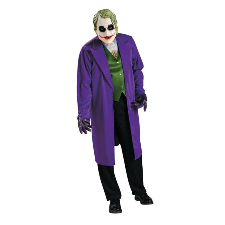 Adult Joker Halloween Costume](Heath Ledger Joker Costume Halloween)
