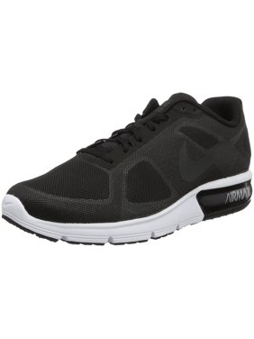 purchase cheap edddc 62e4a Product Image nike men air max sequent running shoes black wolf  grey white metallic hematite