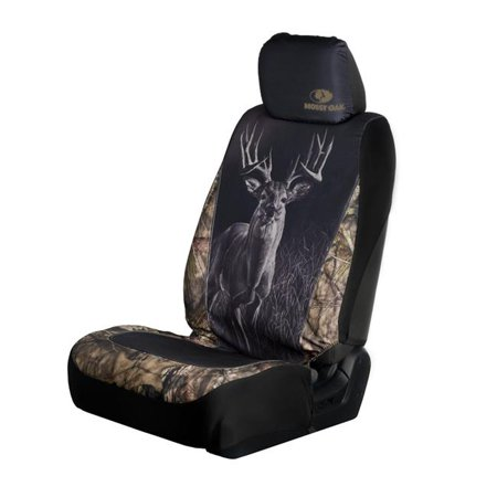 Mossy Oak C000135090199 Low Back Wildlife Deer Seat Covers - Mossy Oak Country & Tan