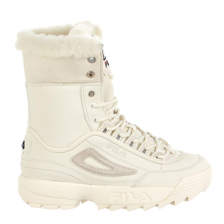 Fila Fila Disruptor Shearling Boots Beige 2060 Womens 8.5