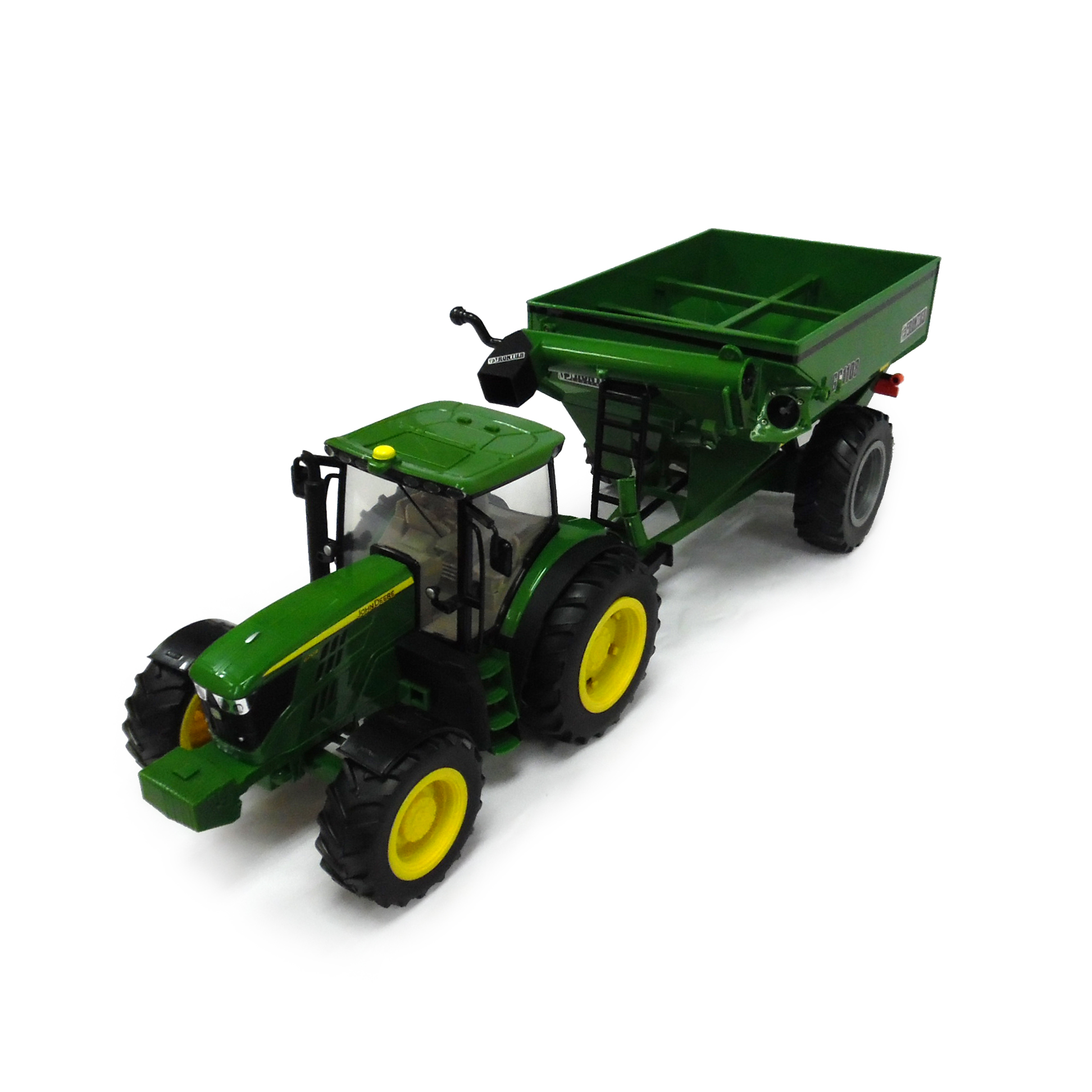 1:16 John Deere 6210R with grain cart