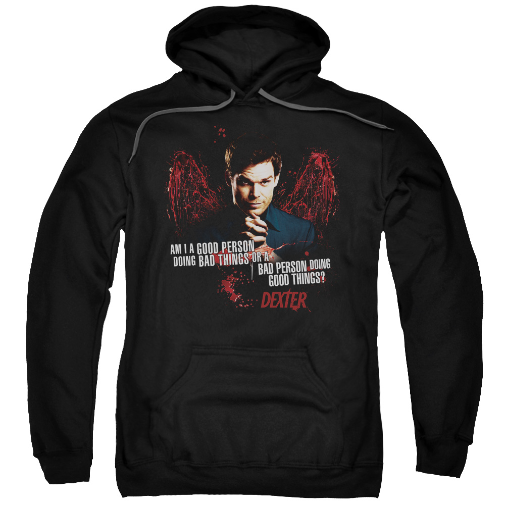 Dexter Good Bad Mens Pullover Hoodie