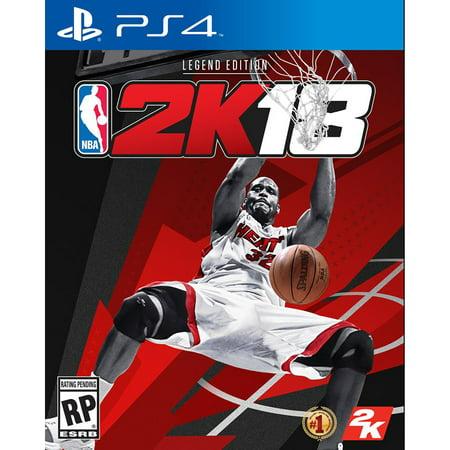 NBA 2K18 Legend Edition, 2K, PlayStation 4, 710425479120