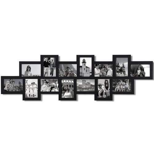 Adeco Trading 14 Opening Decorative Wall Hanging Collage Picture Frame